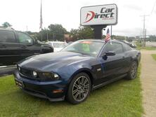 FORD MUSTANG COUPE GT, 4.6L V8, CERTIFIED W/WARRANTY, BLUETOOTH, REAR SPOILER, PREMIUM WHEELS, ONLY 67K MILES! 2010