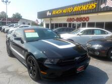 FORD MUSTANG COUPE,CERTIFIED W/ WARRANTY, LEATHER, HEATED SEATS, BLUETOOTH, SATELLITE RADIO, ONLY 38K MILES!!! 2010
