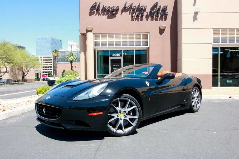 2010_Ferrari_California_Convertible_ Chicago IL