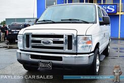 2010_Ford_E-350 Super Duty Extended Wagon_XLT / 5.4L V8 / Automatic / Aisle Captain Chairs / Seats 13 / Auto Start / Cruise Control / Power Locks & Windows / Aux Input / Running Boards_ Anchorage AK