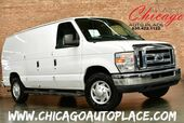 2010 Ford Econoline Cargo Van E-250 COMMERCIAL 4.6L FLEX-FUEL V8 ENGINE REAR WHEEL DRIVE GRAY CLOTH INTERIOR WORK READY REAR STORAGE RACKS
