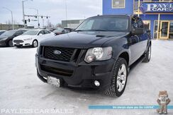 2010_Ford_Explorer Sport Trac_Adrenalin Edition / AWD / Power & Heated Leather Seats / Navigation / Sunroof / Bluetooth / Tonneau Cover / Chrome Wheels / Running Boards / Bed Liner / Tow Pkg_ Anchorage AK
