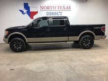 2010_Ford_F-150_2010 Lariat 4WD Leather Sunroof GPS Navi Lifted 33 Tires_ Mansfield TX