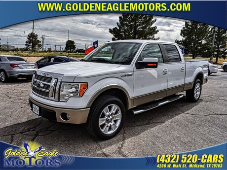 2010 Ford F-150 4WD SUPERCREW 145 LARIAT Midland TX