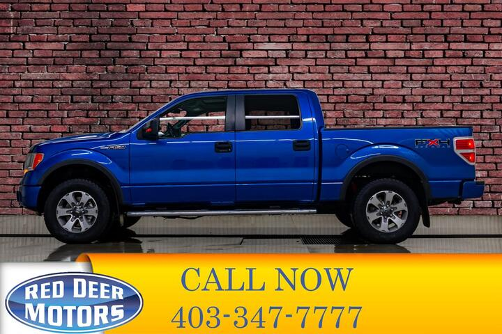 2010 Ford F-150 4x4 Super Crew FX4 Red Deer AB