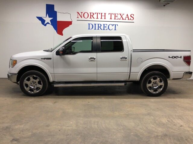 2010 Ford F-150 Lariat 4X4 Heated & Ac Leather Bluetooth Sync 1 Owner Mansfield TX
