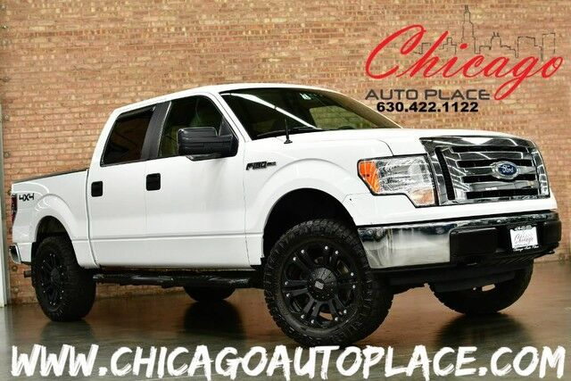 2010 Ford F-150 XLT - 4.6L V8 ENGINE 4WD XD SERIES OFF ROAD WHEELS + TIRES RUNNING BOARDS CHROME BUMPERS TAN CLOTH Bensenville IL