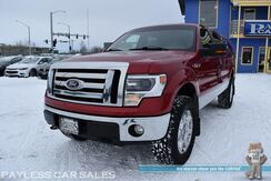2010_Ford_F-150_XLT / 4X4 / Crew Cab / Auto Start / Power Driver's Seat / Power Adjustable Pedals / Microsoft Sync Bluetooth / USB & AUX Jacks / Matching Leer Canopy / WeatherTech Liners / Aluminum Wheels / Seats 6 / Tow Pkg_ Anchorage AK