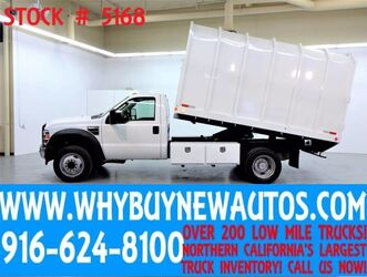 Ford F550 ~ Chipper Dump Bed ~ Diesel ~ Only 53K Miles! 2010