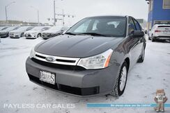 2010_Ford_Focus_SE / Automatic / Power Mirrors Windows & Locks / Air Conditioning / Aluminum Wheels / Aux Jack / 35 MPG_ Anchorage AK