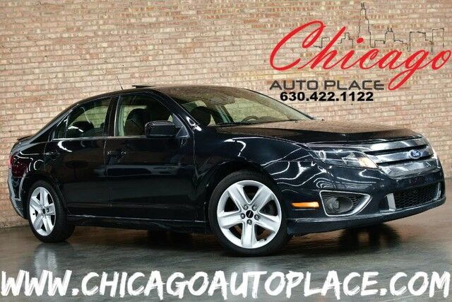 2010 Ford Fusion SPORT - 3.5L DURATEC V6 ENGINE FRONT WHEEL DRIVE BLACK LEATHER SUNROOF SONY AUDIO BLUETOOTH MICROSOFT SYNC PREMIUM ALLOY WHEELS Bensenville IL