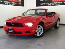 2010 Ford Mustang CONVERTIBLE KEYLESS ENTRY POWER LOCKS POWER WINDOWS POWER MIRRORS CRUISE CONTROL Carrollton TX