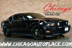 2010_Ford_Mustang_GT - 4.6L V8 ENGINE REAR WHEEL DRIVE BLACK LEATHER SPORT SEATS SHAKER AUDIO BLUETOOTH BLACK ALLOY WHEELS_ Bensenville IL