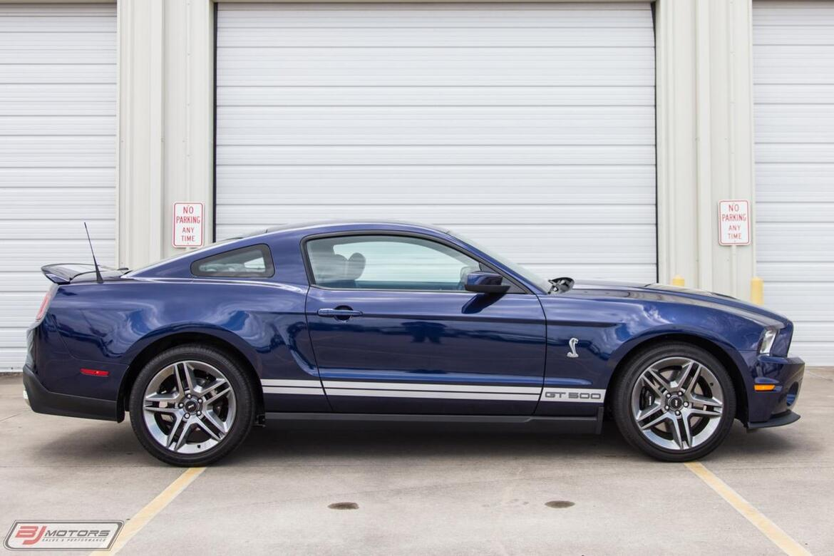 2010 Ford Mustang Shelby GT500 Only 187 Miles Tomball TX
