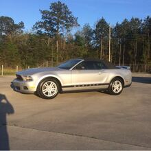 2010_Ford_Mustang_V6 Convertible_ Hattiesburg MS