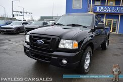 2010_Ford_Ranger_Sport / FX4 Off Road Pkg / 4X4 / Automatic / Supercab / Auto Start / Aux Jack / Cruise Control / Tonneau Cover / Running Boards / Bed Liner / Aluminum Wheels / Tow Pkg / Low Miles / 1-Owner_ Anchorage AK
