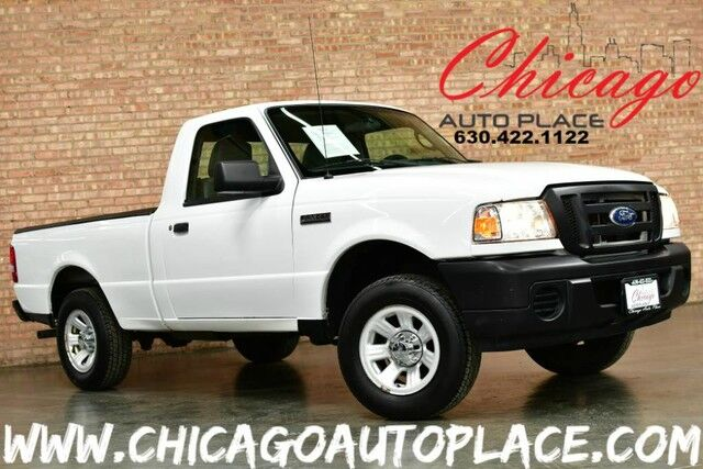 2010 Ford Ranger XL - 2.3L I4 ENGINE REAR WHEEL DRIVE ALLOY WHEELS GRAY LEATHER SEATS CLEAN LOCAL TRADE Bensenville IL