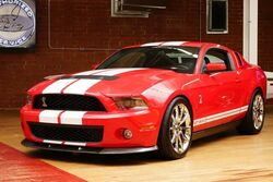 Ford Shelby GT500 GT500 2010
