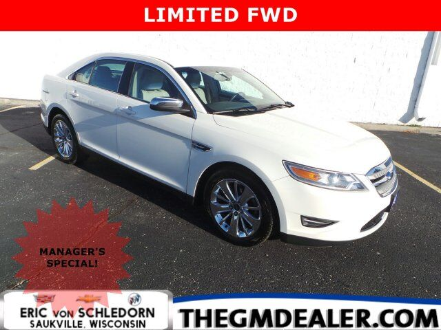 2010 Ford Taurus Limited FWD w/19sChromes Leather ISRV-MirrorRearCamera Milwaukee WI