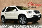 2010 GMC Acadia SLT2 - 3.6L SIDI V6 ENGINE FRONT WHEEL DRIVE NAVIGATION BACKUP CAMERA BEIGE LEATHER PANO ROOF HEATED/COOLED SEATS REAR TV/DVD 3RD ROW SEATS POWER LIFTGATE