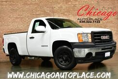 2010_GMC_Sierra 1500_Work Truck - 4.3L V6 BED COVER BLACK WHEELS CHROME BUMPERS_ Bensenville IL