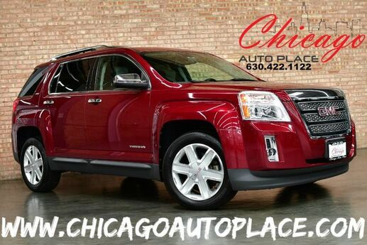 2010 GMC Terrain SLT-2 - 2.4L I4 SIDI ENGINE ALL WHEEL DRIVE BACKUP CAMERA BLACK/GRAY LEATHER HEATED SEATS SUNROOF PIONEER AUDIO POWER LIFTGATE Bensenville IL