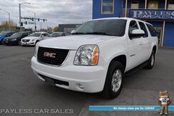 2010_GMC_Yukon XL_SLT / 4X4 / 5.3L V8 / Heated Leather Seats / Bose Speakers / Sunroof / Rear Entertainment / 3rd Row / Seats 8 / Aux Jack / Back Up Camera / Aluminum Wheels / Tow Pkg_ Anchorage AK