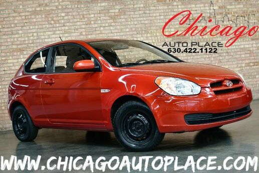 2010 Hyundai Accent GS - 1.6L MPI CVVT I4 ENGINE FRONT WHEEL DRIVE 5 SPEED MANUAL BLACK CLOTH INTERIOR IPOD/AUX/USB CLIMATE CONTROL Bensenville IL