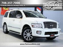 2010_INFINITI_QX56_1 Owner Nav Roof Leather Loaded Family Vehicle_ Hickory Hills IL