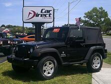 JEEP WRANGLER SPORT 4X4, AUTOCHECK CERTIFIED, AUTO, RUNNING BOARDS, BLUETOOTH, SOFT TOP, ONLY 86K MILES, NICE!! 2010