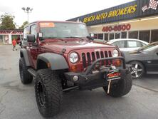JEEP WRANGLER SPORT 4X4, CERTIFIED W/WARRANTY, MANUAL, TOW PKG, SIRIUS RADIO, RUNNING BOARDS, HARD TOP, LOW MILES! 2010