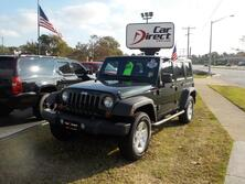 JEEP WRANGLER UNLIMITED SPORT 4X4, BUY BACK GUARANTEE & WARRANTY, TOW PACKAGE, LOW MILES, BOTH TOPS!!! 2010