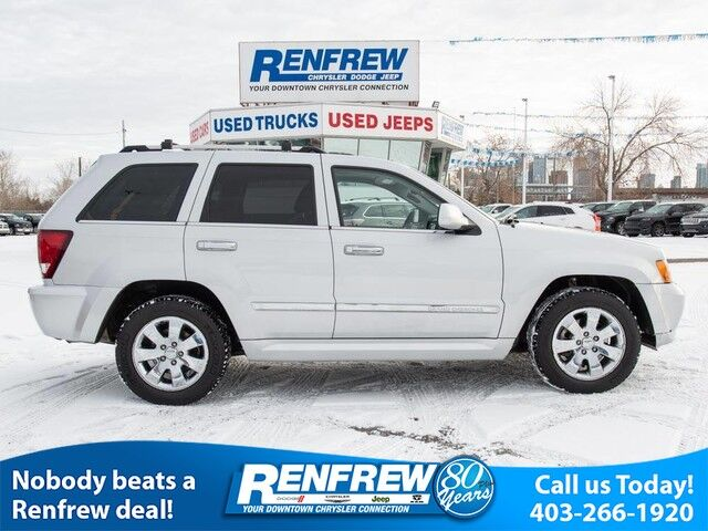 2010 Jeep Grand Cherokee 4WD Limited S V8, Sunroof, Navigation, Heated Leather Calgary AB