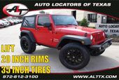 2010 Jeep Wrangler Sport with LIFT and OVERSIZED TIRES