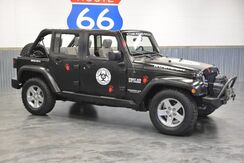 2010_Jeep_Wrangler Unlimited_1 OWNER!! RUBICON 4WD!! MATTE BLACK!!! WINCH! DRIVES LIKE NEW!!! CUSTOMIZED!_ Norman OK