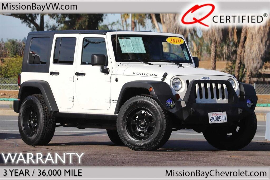 San Diego Jeep >> 2010 Jeep Wrangler Unlimited Rubicon
