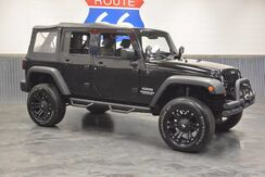 2010_Jeep_Wrangler Unlimited_SPORT! 'ONLY 45,000 MILES' 4X4! WINCH! KC LIGHTS! WINCH! SOFT TOP!_ Norman OK