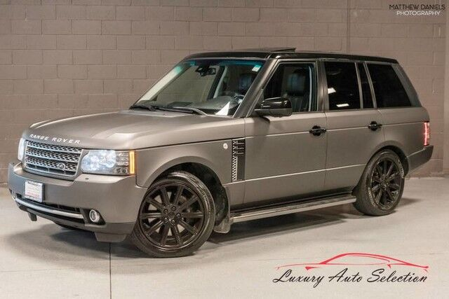 2010 Land Rover Range Rover Supercharged 4dr SUV Chicago IL
