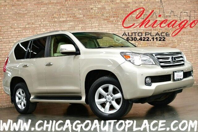 2010 Lexus GX 460 -4.6L SFI V8 ENGINE 4 WHEEL DRIVE NAVIGATION BACKUP CAMERA HEATED/COOLED SEATS KEYLESS GO 3RD ROW SEATS XENONS WOOD GRAIN INTERIOR TRIM Bensenville IL
