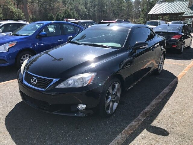 2010 Lexus IS 350C  Monroe GA