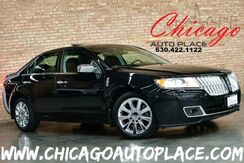 2010_Lincoln_MKZ_3.5L - DOHC V6 DURATEC ENGINE FRONT WHEEL DRIVE 1 OWNER NAVIGATION BACKUP CAMERA BLACK LEATHER W/ BROWN PIPING HEATED/COOLED SEATS ACTIVE BLINDSPOT SUNROOF WOOD GRAIN INTERIOR TRIM_ Bensenville IL