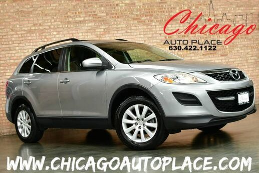 2010 Mazda CX-9 Touring - AWD 3.7L V6 ENGINE BLACK LEATHER W/ GRAY ACCENTS BACKUP CAMERA SUNROOF 3RD ROW SEATS POWER LIFTGATE BOSE AUDIO Bensenville IL