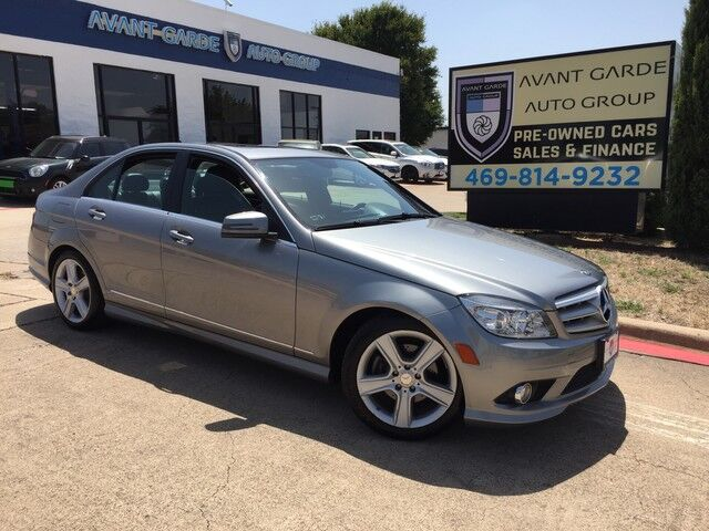 2010 Mercedes-Benz C300 Sport NAVIGATION HEATED LEATHER SEATS, HARMAN KARDON AUDIO, SUNROOF, SPORT PACKAGE!!! LOADED!!! EXTRA CLEAN!!! Plano TX