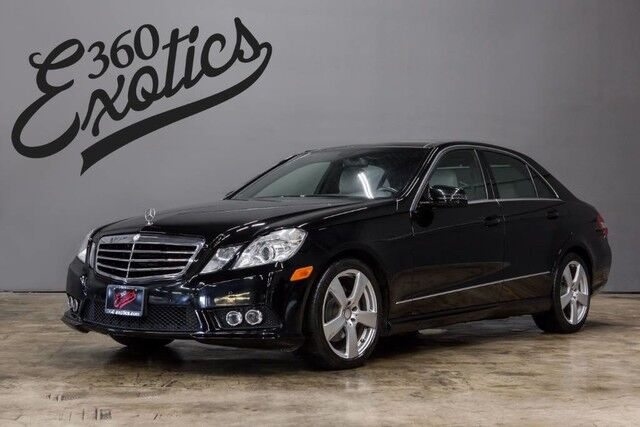 2010_Mercedes-Benz_E-Class_E 350 Luxury_ Austin TX