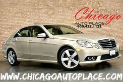 2010_Mercedes-Benz_E-Class_E 350 Sport - 4MATIC ALL WHEEL DRIVE 3.5L V6 ENGINE BEIGE LEATHER INTERIOR NAVIGATION BACKUP CAMERA HEATED SEATS SUNROOF WOOD GRAIN INTERIOR TRIM_ Bensenville IL