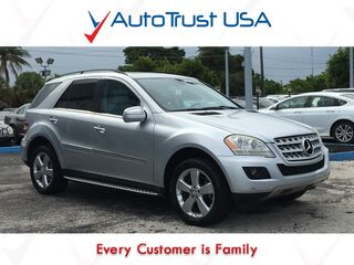 Mercedes-Benz M-Class ML 350 Clean Carfax Nav Sunroof Backup Cam Fully Loaded 2010