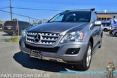 2010 Mercedes-Benz ML 350 BlueTEC 4Matic AWD / 3.0L Turbo Diesel / Power & Heated Leather Seats / Navigation / Sunroof / Bluetooth / Back Up Camera / Luggage Rack / Only 50K Miles / Tow Pkg / 1-Owner