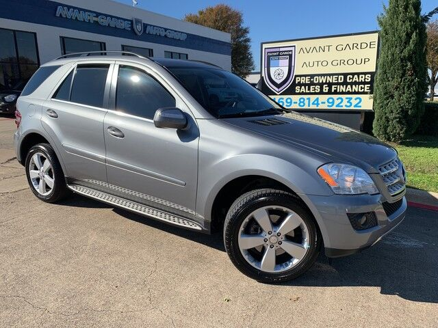 2010 Mercedes-Benz ML350 NAVIGATION REAR VIEW CAMERA, PREMIUM SOUND, HEATED LEATHER SEATS, SUNROOF!!! EXTRA CLEAN!!! FORMER CPO !!! Plano TX