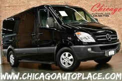 2010_Mercedes-Benz_Sprinter Passenger Vans_CDI 2500 - 3.0L V6 TURBO DIESEL ENGINE REAR WHEEL DRIVE CUSTOM GRAY LEATHER HEATED SEATS NAVIGATION SUEDE HEADLINER REAR TV 3RD ROW SEATING_ Bensenville IL