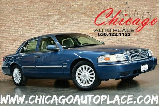 2010 Mercury Grand Marquis LS ULTIMATE EDITION - 4.6L FLEX-FUEL V8 ENGINE REAR WHEEL DRIVE BEIGE LEATHER WOOD GRAIN INTERIOR TRIM Bensenville IL